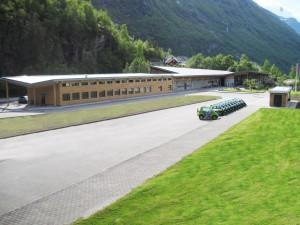 Norsk Fjordsenter Geiranger - tilbygg